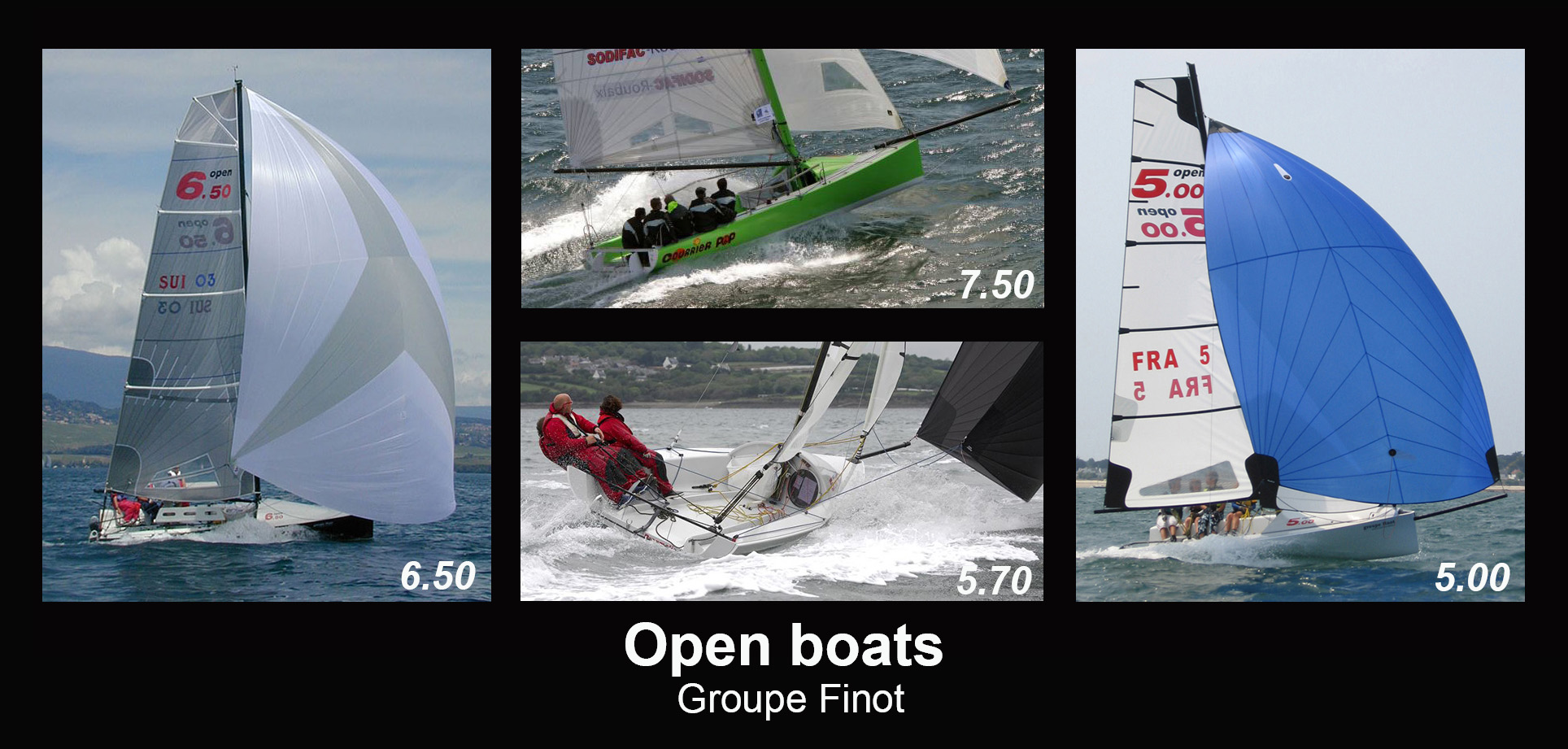 cadre open boats
